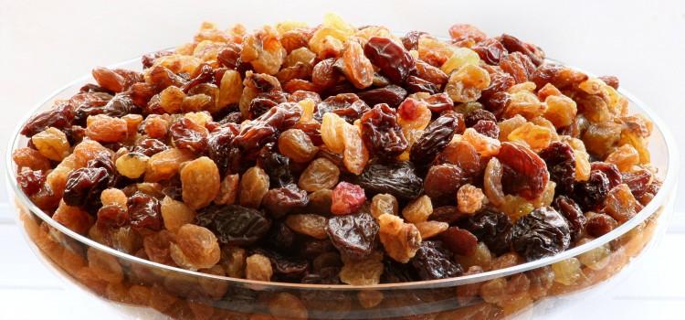 Indagine su contaminanti presenti in uva passa utilizzata in prodotti destinati all'alimentazione umana.