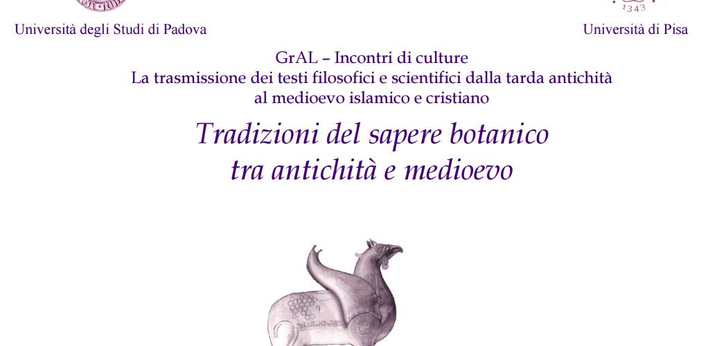 """""""Tradizioni del sapere botanico tra antichità e medioevo"""""""